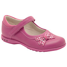 Buy Clarks Fairies Trix Dazzle Shoes, Pink Online at johnlewis.com