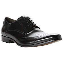 Buy Dune Abiding Leather Brogue Derby Shoes Online at johnlewis.com