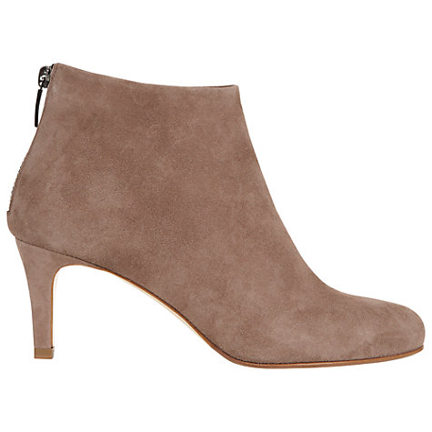 Buy Hobbs Elizabeth Ankle Boots, Clay Online at johnlewis.com