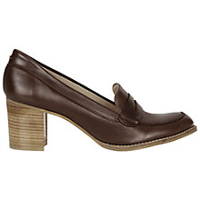 Buy NW3 by Hobbs Brigitte Court Shoes, Chesnut Online at johnlewis.com