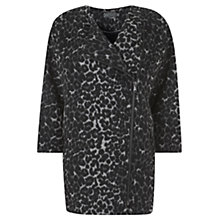 Buy Mint Velvet Cocoon Coat, Grey Multi Online at johnlewis.com