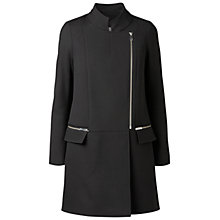 Buy Gérard Darel Officers Coat, Black Online at johnlewis.com