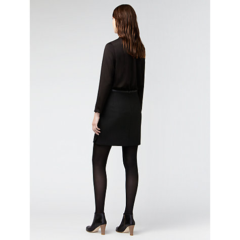 Buy Gérard Darel Zip Pocket Skirt, Black Online at johnlewis.com