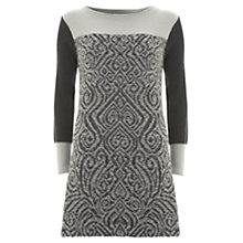 Buy Mint Velvet Pattern Front Knit Dress, Multi Online at johnlewis.com