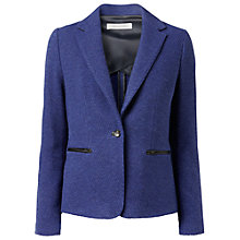 Buy Gérard Darel Tailored Collar Jacket, Blue Online at johnlewis.com
