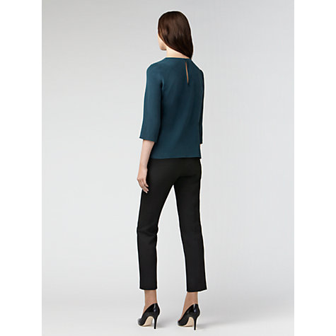 Buy Gérard Darel Zip Trousers, Black Online at johnlewis.com