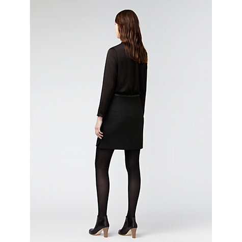 Buy Gérard Darel Plain Blouse, Black Online at johnlewis.com