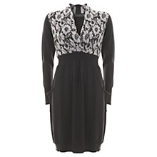 Buy Mint Velvet Wrap Dress, Purple Online at johnlewis.com