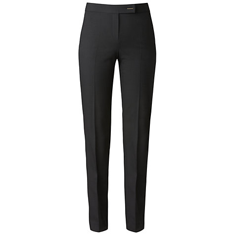 Buy Gérard Darel Slant Pocket Trousers, Black Online at johnlewis.com