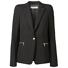 Buy Gérard Darel Tailored Zip Pocket Jacket, Black Online at johnlewis.com