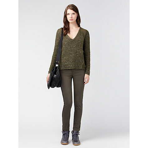 Buy Gérard Darel Suit Jeans, Khaki Online at johnlewis.com