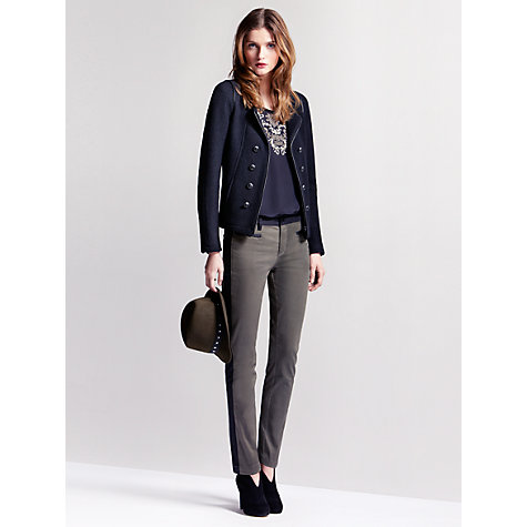 Buy Gérard Darel Wool Jacket, Black Online at johnlewis.com