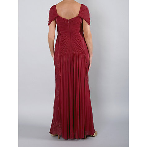 Buy Chesca Lace Panel Evening Dress Online at johnlewis.com