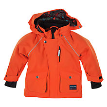 Buy Polarn O. Pyret Padded Stretch Jacket, Orange Online at johnlewis.com