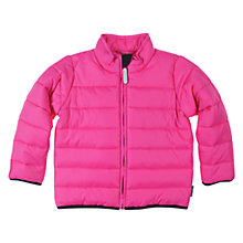 Buy Polarn O. Pyret Quilted Jacket, Sangria Online at johnlewis.com
