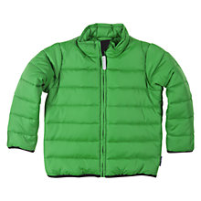 Buy Polarn O. Pyret Quilted Jacket, Aloe Online at johnlewis.com