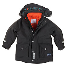 Buy Polarn O. Pyret 3-in-1 Parka and Quilted Coat, Black Online at johnlewis.com