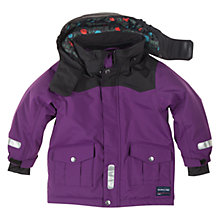 Buy Polarn O. Pyret Padded Winter Coat, Blackberry Online at johnlewis.com