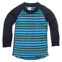 Buy Polarn O. Pyret Thermal Top, Navy Online at johnlewis.com