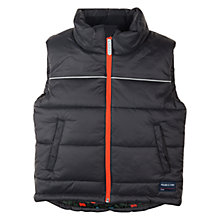 Buy Polarn O. Pyret Padded Gilet, Black Online at johnlewis.com