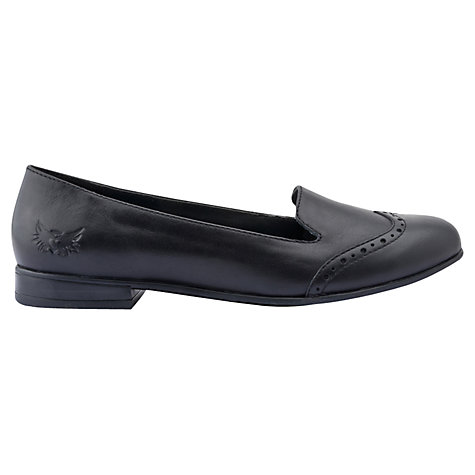 Buy Start-rite Halo Heel Leather Shoes, Black Online at johnlewis.com