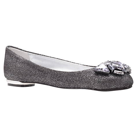 Buy Nine West Frisbee2 Embellished Pumps, Silver Online at johnlewis.com