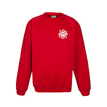 Buy East London Science School Unisex Sweatshirt, Red Online at johnlewis.com