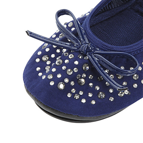 Buy Dune Midas Roll-Up Ballerina Shoes Online at johnlewis.com