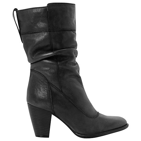 Buy Dune Rad Slouch Calf Boots Online at johnlewis.com