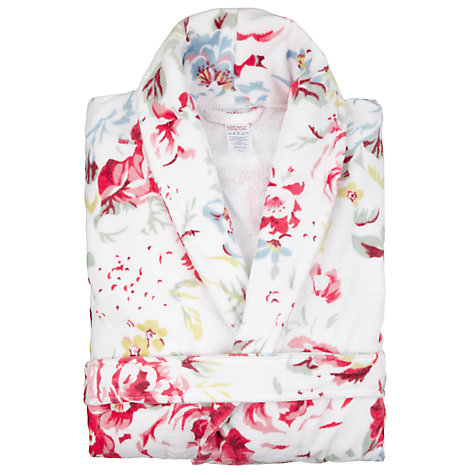 Buy Cath Kidston Women's Bath Robe, Greenwich Rose Online at johnlewis.com