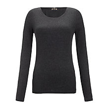 Buy Jigsaw Ribbed Long Sleeve Top Online at johnlewis.com
