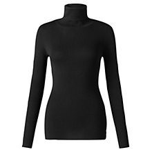 Buy Jigsaw Silk Cotton Polo Neck Sweater Online at johnlewis.com
