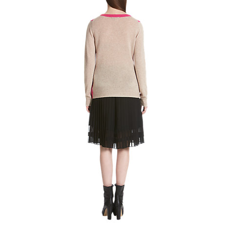Buy Jigsaw Cashmere Sweater, Pink Online at johnlewis.com