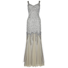 Buy Ariella Serafina Sequin Floor Length Dress, Gold Online at johnlewis.com