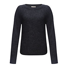 Buy Jigsaw Mouline Sweater, Grey Online at johnlewis.com