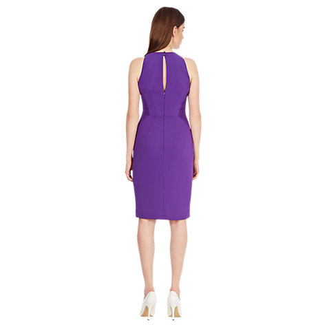 Buy Coast Carly Dress, Purple Online at johnlewis.com