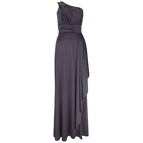 Buy Ariella Olivia Full Length Dress, Grape Online at johnlewis.com