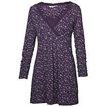 Buy Fat Face Floral Tunic Dress, Sweet Grape Online at johnlewis.com