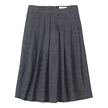 Buy Toast Crinkle Check Skirt, Emerald Print Online at johnlewis.com