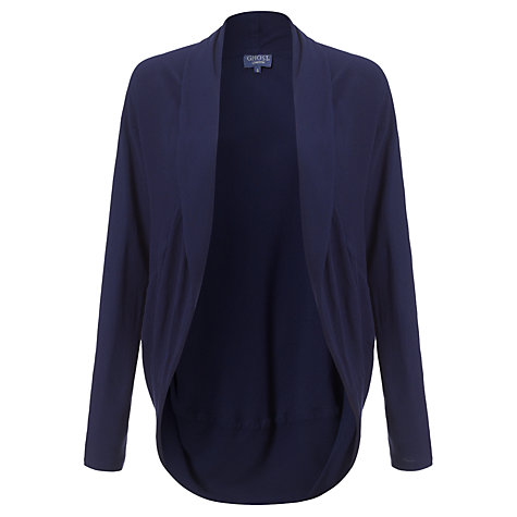 Buy Ghost Willon Crepe Shrug, Foxglove Online at johnlewis.com