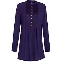 Buy Ghost Imogen Tunic Top, Foxglove Online at johnlewis.com