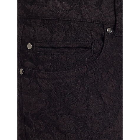 Buy Jigsaw Floral Jacquard Jeans Online at johnlewis.com