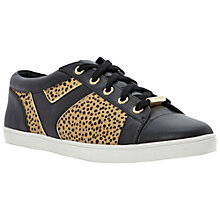 Buy Dune Lynessa Panelled Trainers, Leopard Print Online at johnlewis.com