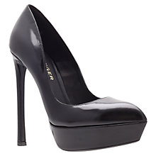 Buy Kurt Geiger Empire Court Shoes, Black Online at johnlewis.com