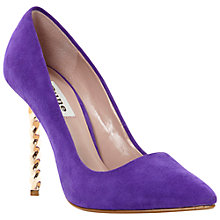 Buy Dune Blazing Twisted Stiletto Heel Court Shoes Online at johnlewis.com