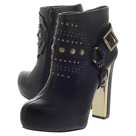Buy Carvela Slim Ankle Boots, Black Online at johnlewis.com