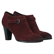 Buy Mint Velvet Suede Buckle Shoe Boots Online at johnlewis.com