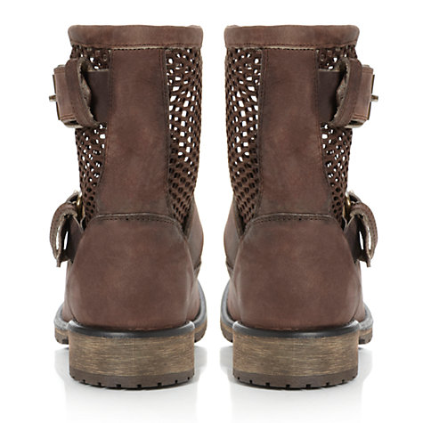Buy Steve Madden Flank Ankle Boots, Brown Online at johnlewis.com