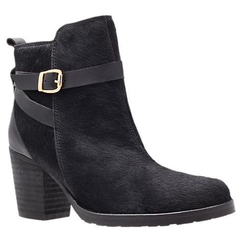 Buy Kurt Geiger Sophie Ankle Boots, Black Online at johnlewis.com