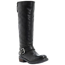 Buy Bertie Taylor Knee Boots, Black Online at johnlewis.com